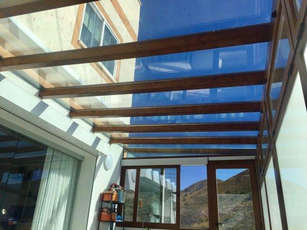 Reforma porche-terraza