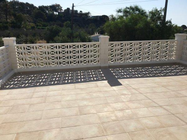 Reforma porche/terraza