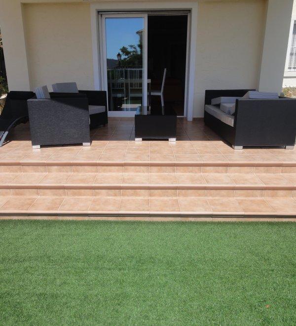 Reforma de porche-terraza